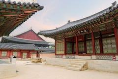 王宫(汉城,韩国) 免版税库存图片