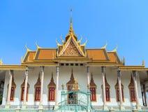王宫Pnom Penh,柬埔寨 免版税库存照片
