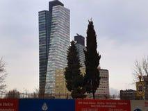 王牌在Mecidiyekoy伊斯坦布尔耸立Plsaza 免版税图库摄影