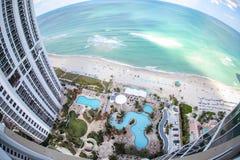 王牌塔在迈阿密   库存图片