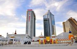 王牌Taj Majal在大西洋城, NJ 免版税库存照片