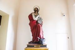 玛丹娜二圣卢卡,波隆纳,意大利的圣所 库存照片