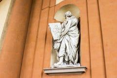 玛丹娜二圣卢卡,波隆纳,意大利的圣所 免版税图库摄影