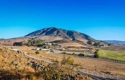 玛丹娜山-圣路易斯-奥比斯保,加州 免版税库存图片
