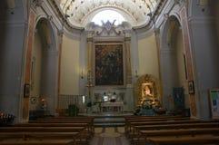 玛丹娜del鲭户Sanctuary 米内尔维诺穆尔杰 普利亚 意大利 免版税库存照片