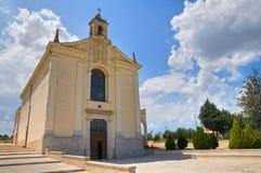 玛丹娜del鲭户Sanctuary 米内尔维诺穆尔杰 普利亚 意大利 库存照片