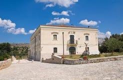 玛丹娜del鲭户Sanctuary 米内尔维诺穆尔杰 普利亚 意大利 免版税库存图片