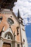 玛丹娜della光环圣所-维罗纳意大利 免版税库存图片