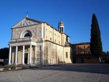 玛丹娜della史特拉,中央意大利的圣所 图库摄影