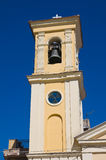 玛丹娜della斯特拉达教会  托雷马焦雷 普利亚 意大利 免版税库存图片