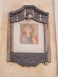 玛丹娜della Lampada 免版税库存图片