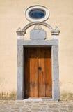 玛丹娜della Rocca教会  萨特里亚诺迪卢卡尼亚 意大利 免版税库存图片