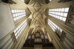 玛丽亚上午Gestade教会在维也纳 免版税库存图片