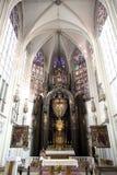 玛丽亚上午Gestade教会在维也纳 免版税库存照片