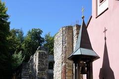 玛丽亚帮助教堂在南德国 免版税库存图片