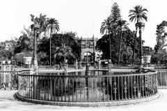 玛丽亚路易莎公园在塞维利亚 免版税库存照片