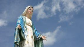 玛丽亚雕象 免版税图库摄影