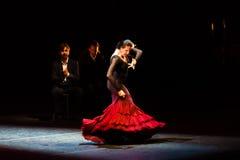 玛丽亚页,西班牙佛拉明柯舞曲舞蹈家 图库摄影