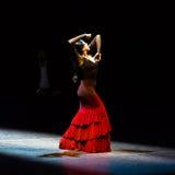玛丽亚页,西班牙佛拉明柯舞曲舞蹈家 库存照片