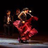 玛丽亚页,西班牙佛拉明柯舞曲舞蹈家 免版税库存图片