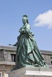 玛丽亚・特蕾西亚纪念碑,克拉根福,奥地利 库存图片