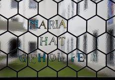 玛丽亚Dolorosa帮助了,玛丽亚Luggau,奥地利 免版税库存照片