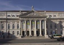 玛丽亚II夫人国家戏院 免版税库存照片