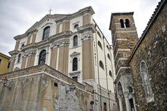 玛丽亚Maggiore Triest教会  免版税库存照片
