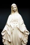 玛丽圣徒雕象 免版税库存图片