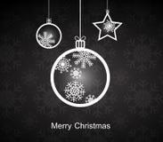 玛丽圣诞节。 免版税库存图片