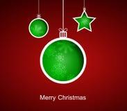玛丽圣诞节。 免版税图库摄影