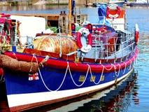 玛丽安Hepworth救生艇, Whitby。 库存照片