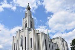 玛丽的最纯净的心脏的教会 免版税库存图片