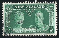 玛丽皇后和乔治五世国王 免版税库存照片