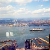 1967年玛丽皇后留下上次的NYC 免版税库存图片