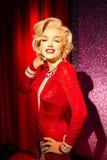 玛丽莲・梦露在杜莎夫人蜡象馆旧金山的蜡象 免版税图库摄影