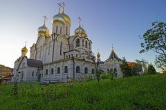 玛丽诞生大教堂在构想女修道院在莫斯科vi 免版税库存照片
