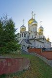玛丽诞生大教堂在构想女修道院在莫斯科vi 免版税库存图片