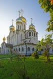 玛丽诞生大教堂在构想女修道院在莫斯科vi 库存图片