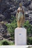 玛丽雕象贞女 免版税库存图片