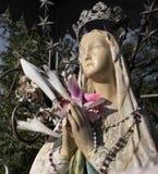 玛丽雕象贞女 库存照片