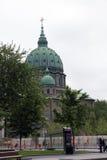 玛丽,世界大教堂的女王/王后从多切斯特广场的 免版税库存图片
