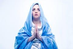 玛丽贞女 免版税图库摄影