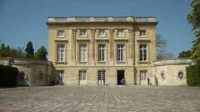 玛丽・安托瓦内特小的Trianon  凡尔赛庭院 法国 股票录像