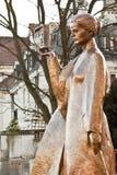 玛丽・居里雕象在华沙 免版税库存照片