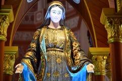玛丽(耶稣的母亲)宣武门天主堂的 图库摄影