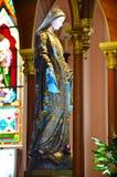 玛丽(耶稣的母亲)宣武门天主堂的 库存图片