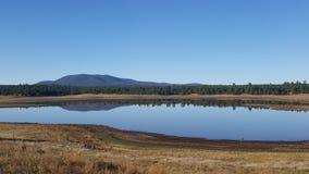 玛丽Dam湖在北亚利桑那 免版税库存图片
