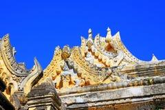玛哈Aungmye Bonzan修道院, Innwa,缅甸 库存照片