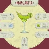 玛格丽塔酒 库存图片